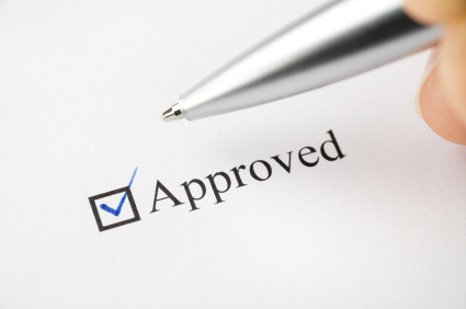 Get approved for a patent
