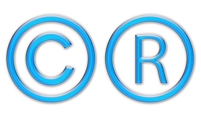 copyright and trademark symbols
